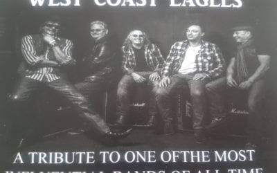 Eagles Tribute Show, Friday 15th November  2019 at  730pm