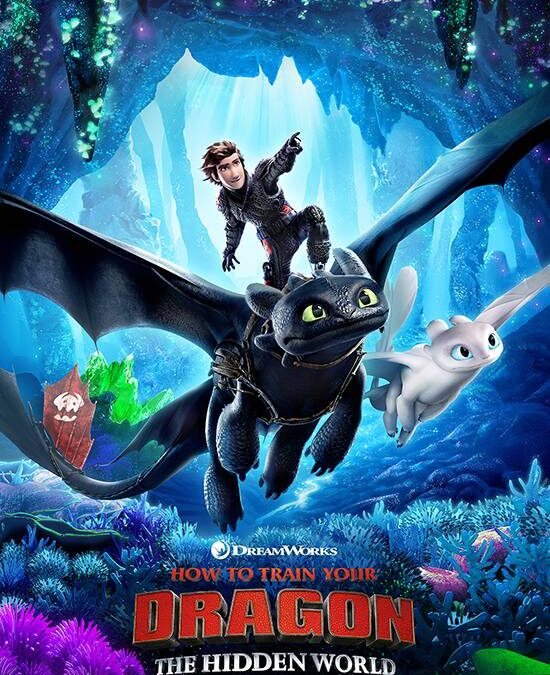 How to Train your Dragon – The Hidden World 2019  PG