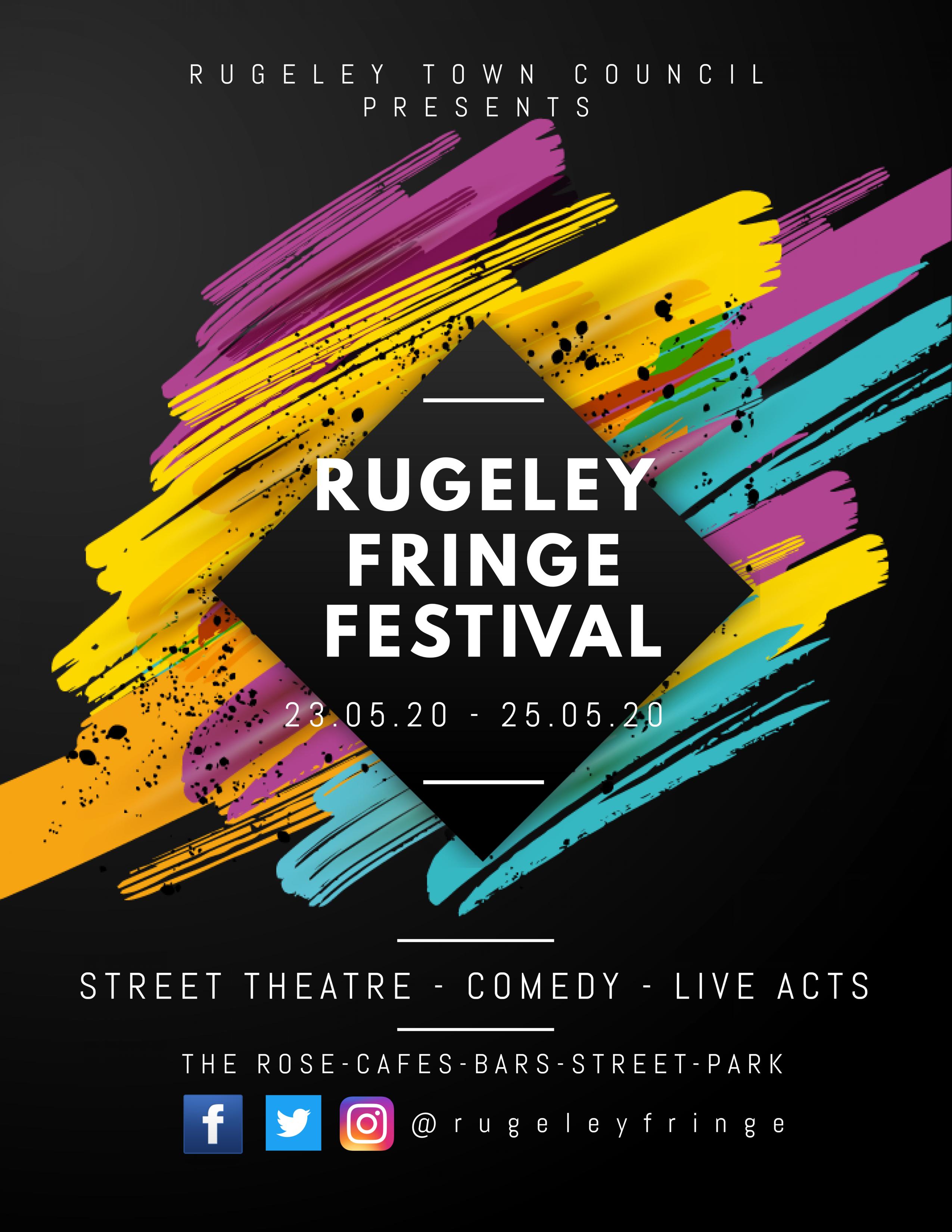 Rugeley Fringe Festival – Digital Recording